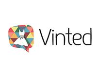 """Vinted"" logo & branding"