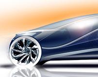 Future Luxury - vehicle rendering