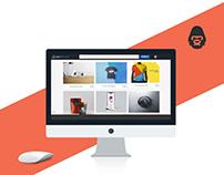 iMac Showcase Mockup Free PSD