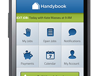 Handybook Provider's Android App