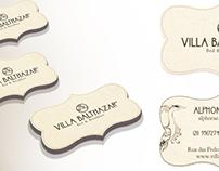 Villa Balthazar - Logo e Cartão de Visitas
