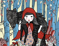 "// ""Little red riding hood"" picture book"