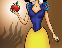 Snow White illustration personal work