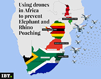 Infographic - Using drones to prevent poaching