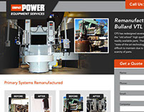 Compact Power Services Landing Page