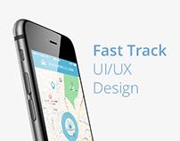 Fast Track - iOS UI/UX Design