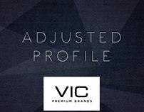Adjusted profile 2016 / VIC