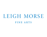 Leigh Morse Fine Arts identity, stationery, and web