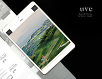 WINE BAR WEBSITE Design - UVE