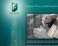 King David's Harp Service website