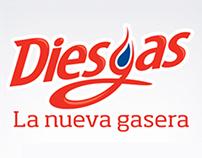 Diesgas