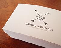 Damsel In Distress Namecard
