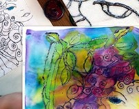 Beginners 2 hour Silk Painting Workshop