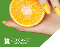 Social Media Adverts - Red Carpet Manicure