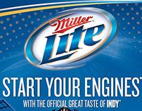 MIller Lite Indy 500 Centennial Promotion