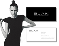 BLAK Model Management Corporate Branding