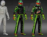 Mtn Dew 3D Driver Suit