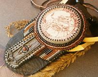 Dragon Pendant - Indian jewelry - filigree