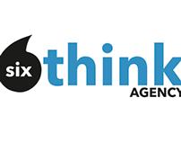 6 Think Capstone Agency Logo Design