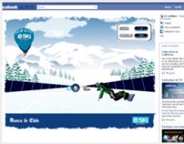 E-Ski (Advergame & Banner Interactivo)