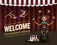 Upfront Media Website
