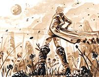 El Capitàn Renterìa (Novela gràfica)