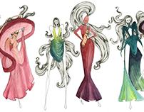 Advanced Fashion Sketching: Mock Comme de Garcon