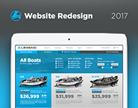 Legend Website Redesign