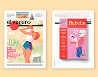 EL PAÍS NEWSPAPER / Covers
