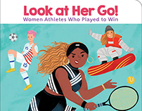 Look At Her Go! Women Athletes Who Played to Win