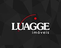 Criação de papelaria para empresa Luagge Imóveis