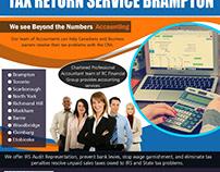 Tax Return Service Brampton | 8559107234 | rcfinancialg