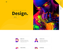 Colorful Creative Design Agency