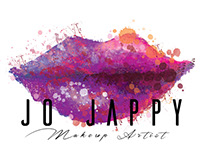 Logo design for Jo Jappy MUA.