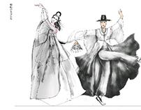 民族舞美服装