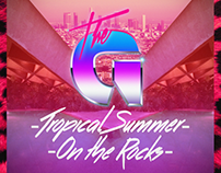 The G - Tropical Summer / On the Rocks EP cover art