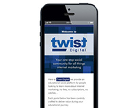 Twist Digital: Brand, Online & Offline Design