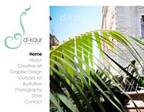 D-Kaur: Logo & Website Design