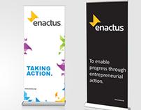 Enactus Pullup banners
