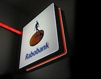 Rabobank facade signage