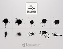 10 Drops & Splashes Brushes