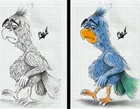 unhuppy parrot
