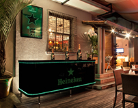 Heineken estação DJ