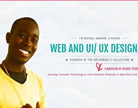 Michael Mwaura's personal site Version 2.0