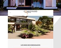 Desarrollo Web | UI/UX / Camilo Pulido Arquitectos