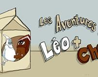 LES AVENTURES DE LEO ET CHOC - LAIT AU CHOCOLAT