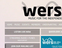 WERS 88.9 Redesign  Proposal