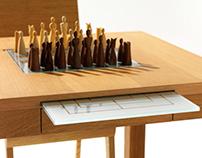LUDO game table / spieltisch