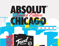 ABSOLUT CHICAGO x THREADLESS Challenge