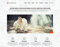 Surface / Responsive HTML5 Website